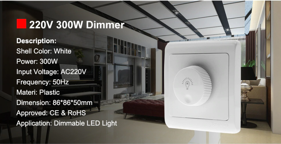 The picture is showing best quality dimmer switch
