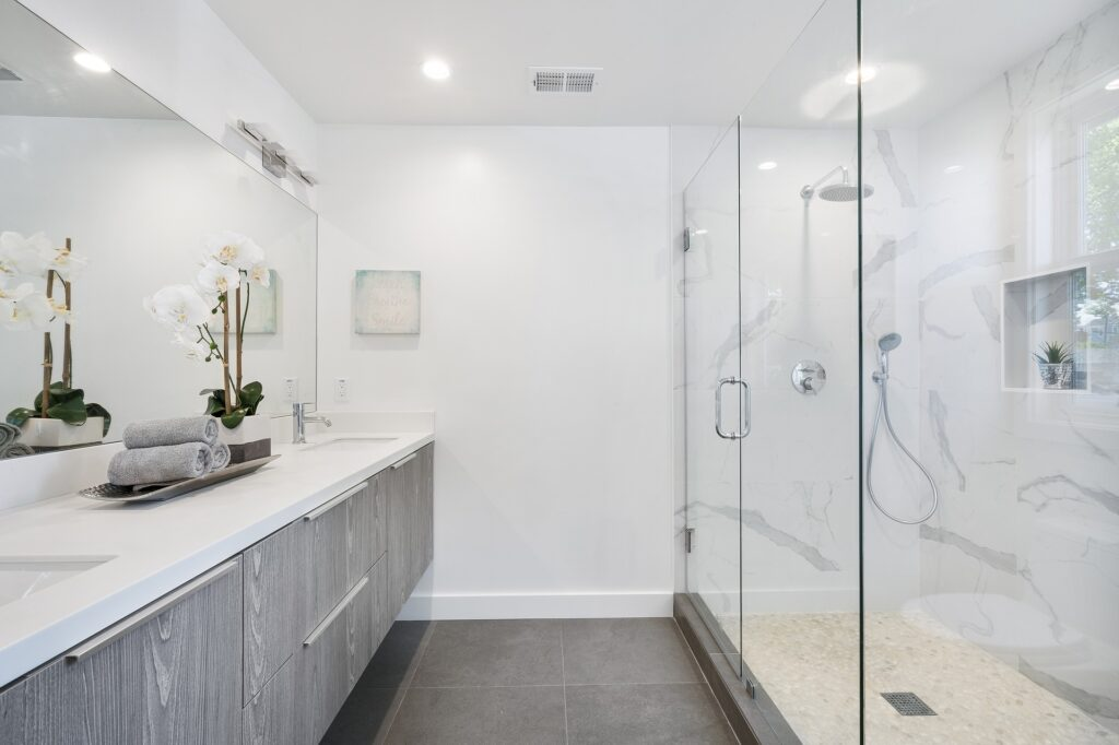 Which lighting is best for the bathrooms