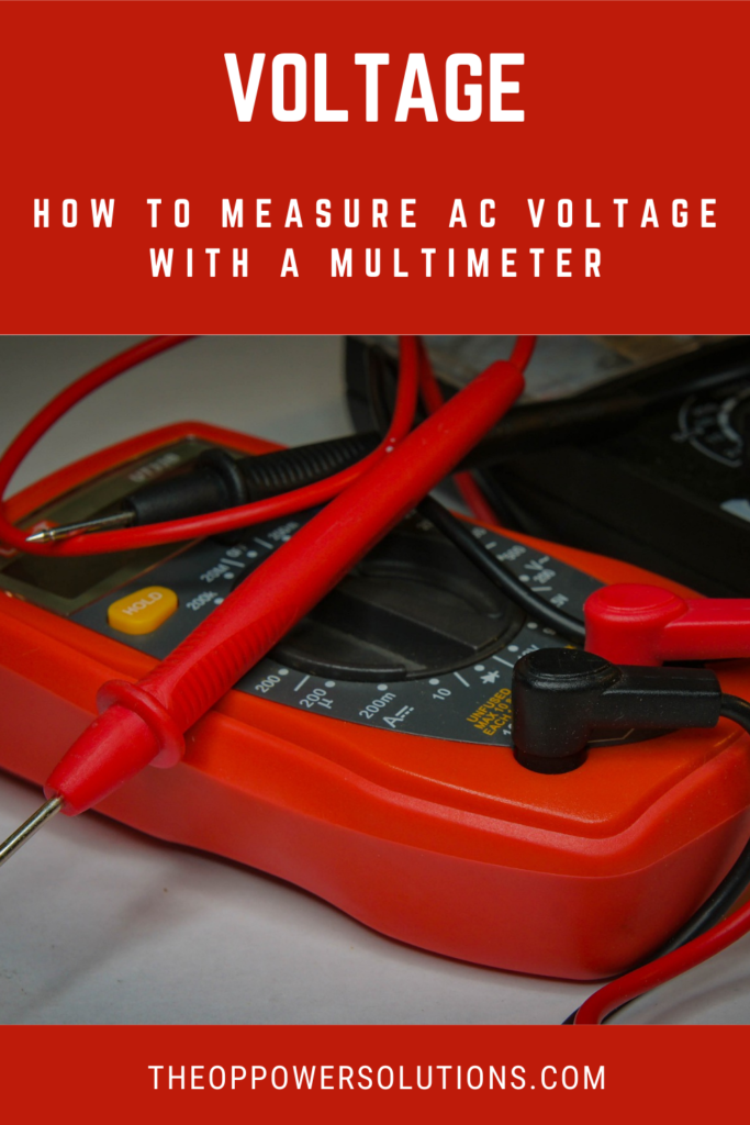 A picture showing a multimeter an instrument that you can use to measure AC voltage.