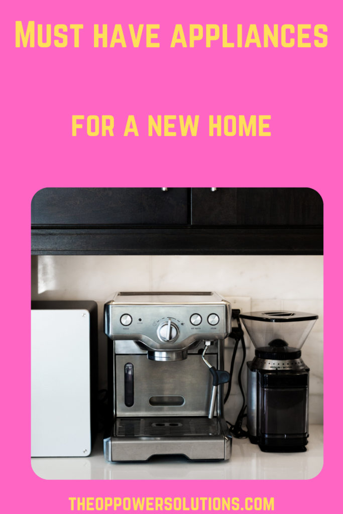 A picture showing a must have appliance for a home