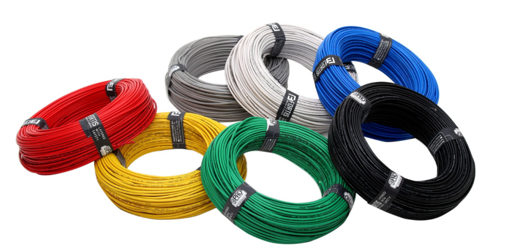 A picture showing electrical cables in zambia